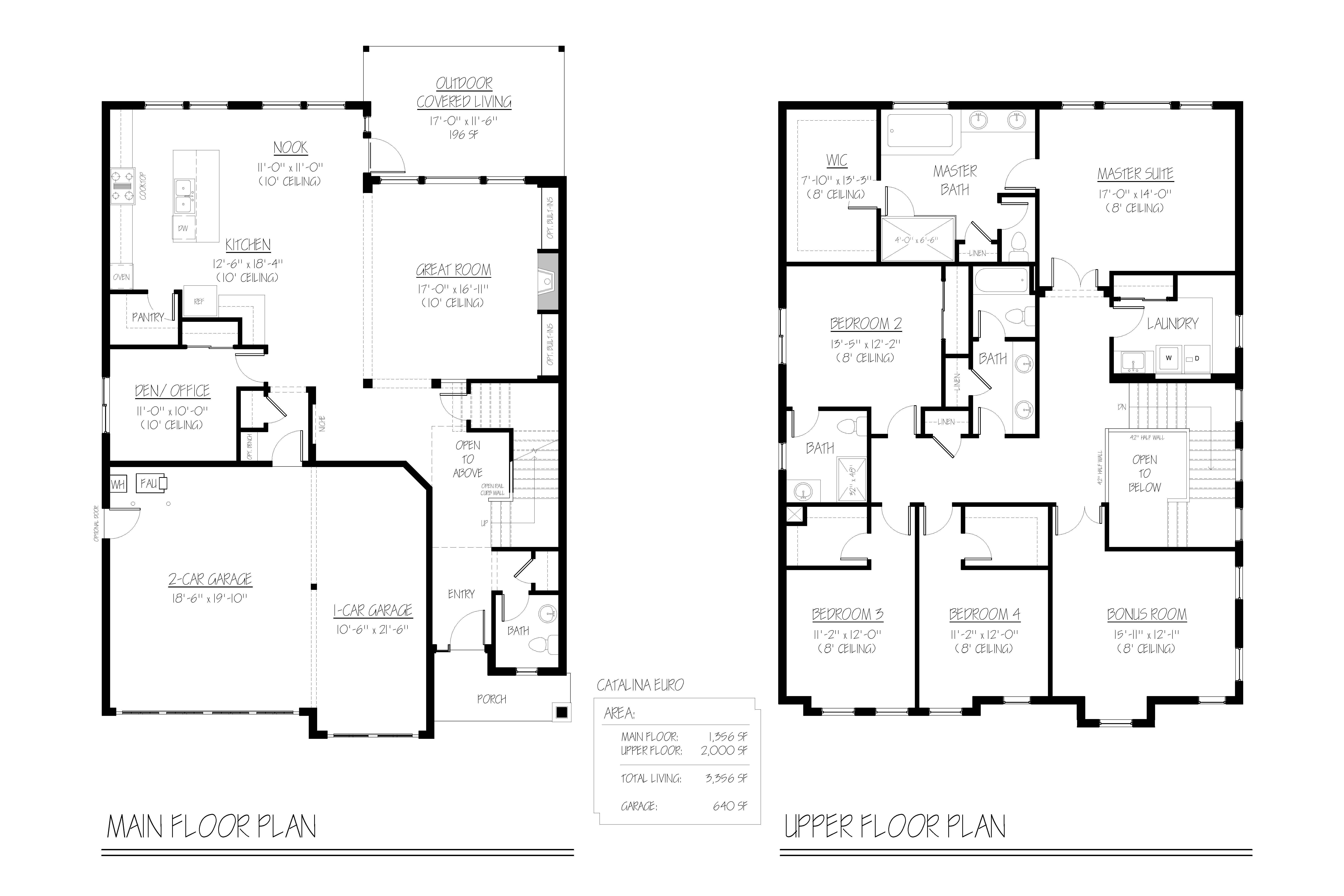 28535 canyon creek road renaissance homes for Renaissance homes floor plans