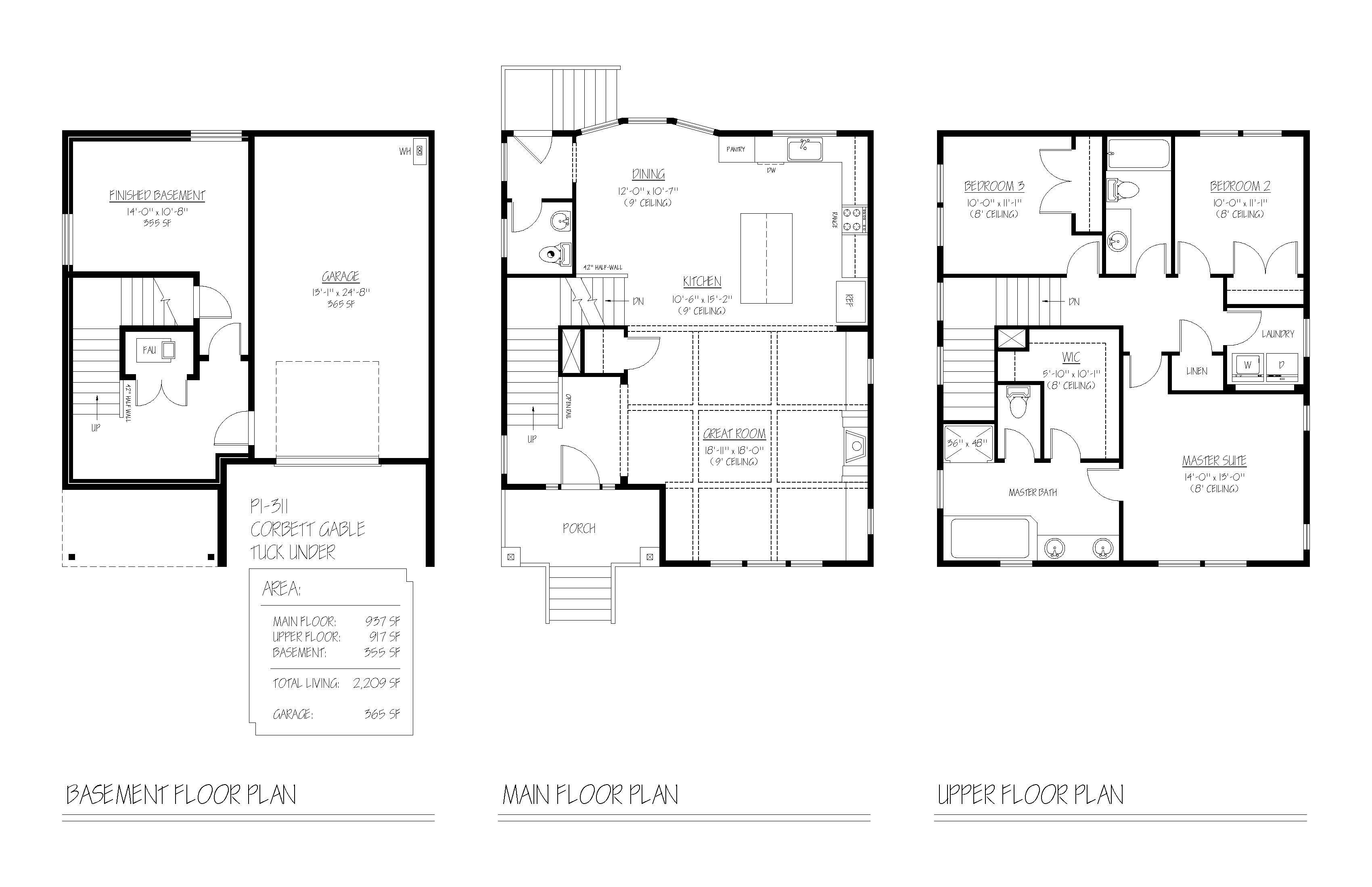 4225 se lexington street renaissance homes for Renaissance homes floor plans