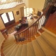 The Big Easy Curved Staircase