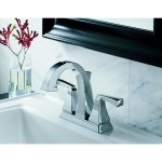 Delta faucet with marble background