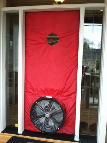 Construction Corner: Blower Door Testing
