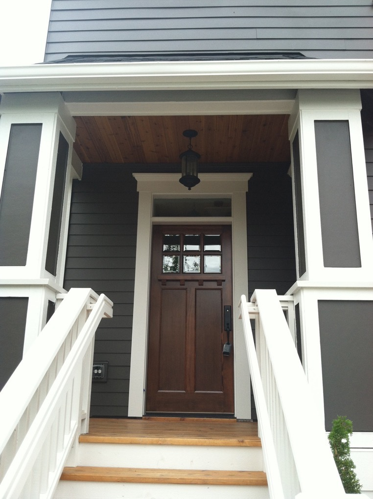 Ainsworth front door