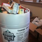 Last year's Vintage Home Show collected nearly 600 pounds of food for Oregon Food Bank. Let's beat that record this year.