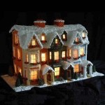 Gingerbread Victorian Rowhouse