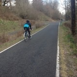Biking the Springwater Corridor in SE Portland