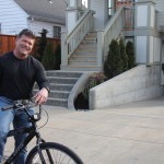 Randy on a bike