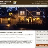 Renaissance Homes website gets a makeover