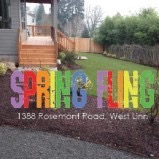 We'll see you at the Spring Fling in West Linn