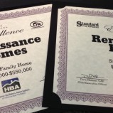 Renaissance Homes takes home two Building Excellence Awards